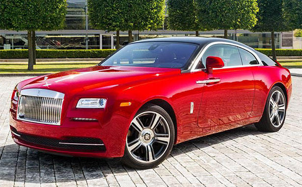Rolls Royce Wraith Comes In Red