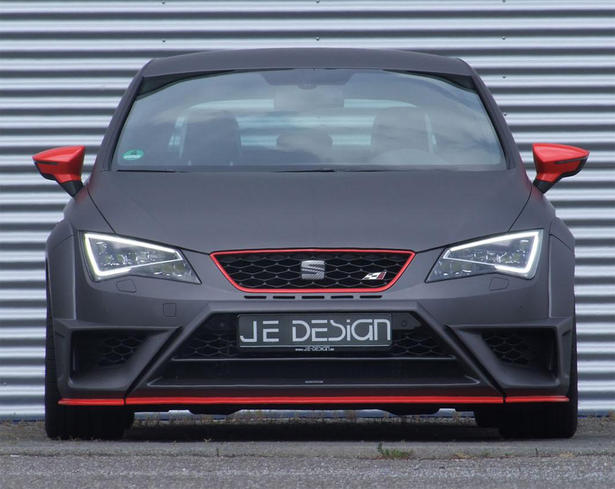 seat leon cupra wide body kit and powerkit by je design. Black Bedroom Furniture Sets. Home Design Ideas