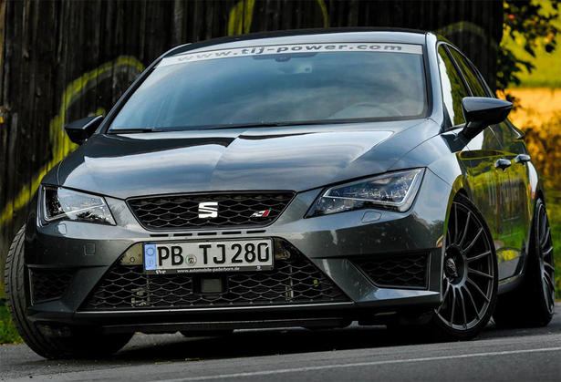 2014 Seat Leon Cupra Powerkit By Tij Power 375 Hp