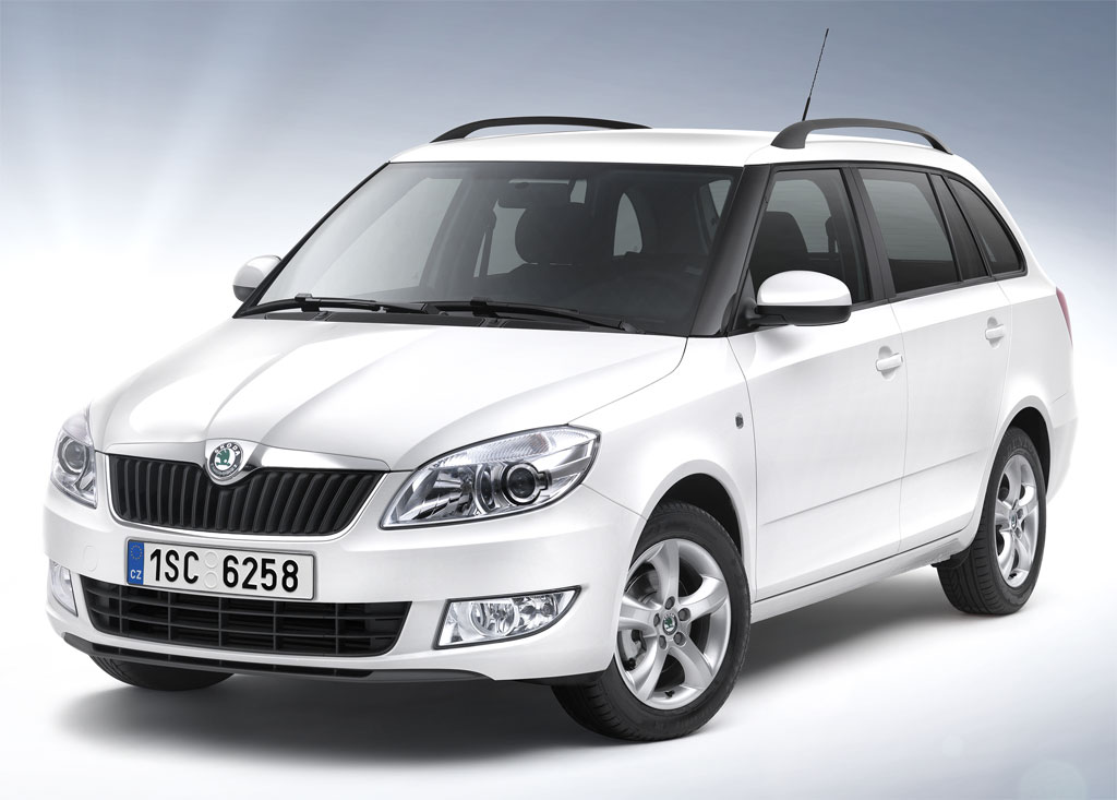 skoda fabia estate greenline ii photo 1 8496. Black Bedroom Furniture Sets. Home Design Ideas