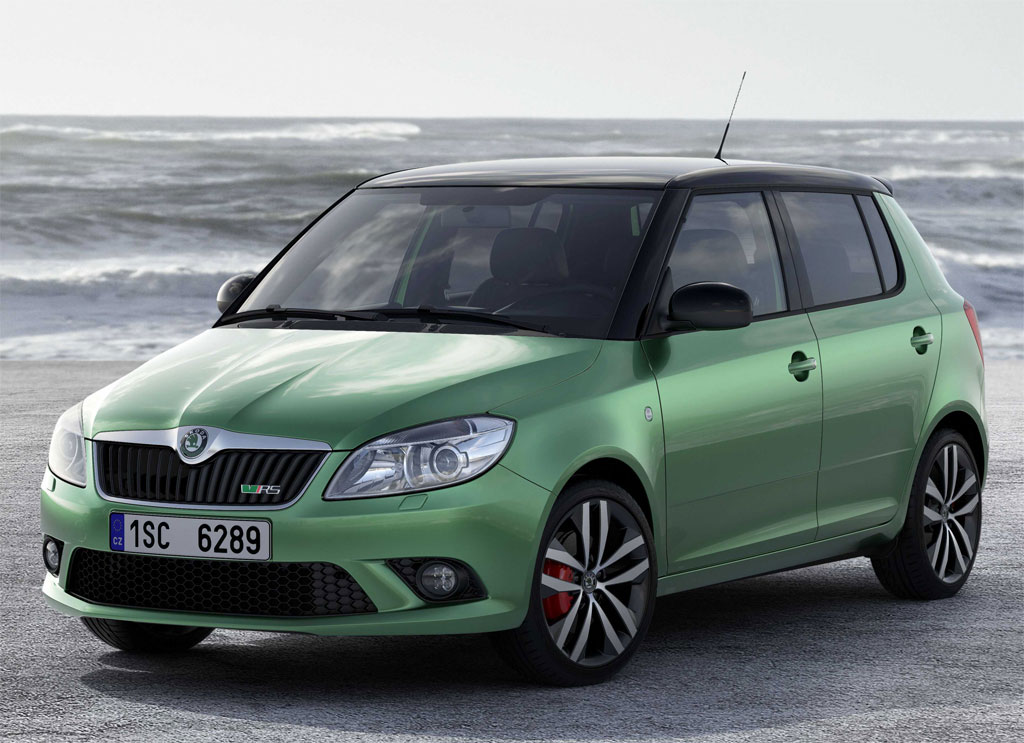Skoda Fabia vRS Estate 1