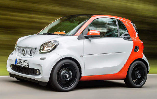 2015 Smart ForTwo and ForFour: Engines, Specs, Equipment