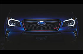 Subaru Forester STi Announced Photos