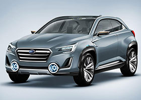 Subaru Viziv 2 Concept Photos