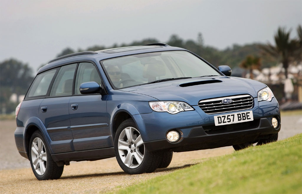 2008 Subaru Legacy and Outback Boxer Diesel Photos - Image 1