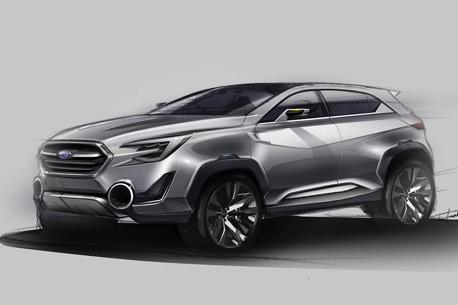 Subaru Viziv 2 Concept Photo 11 13848
