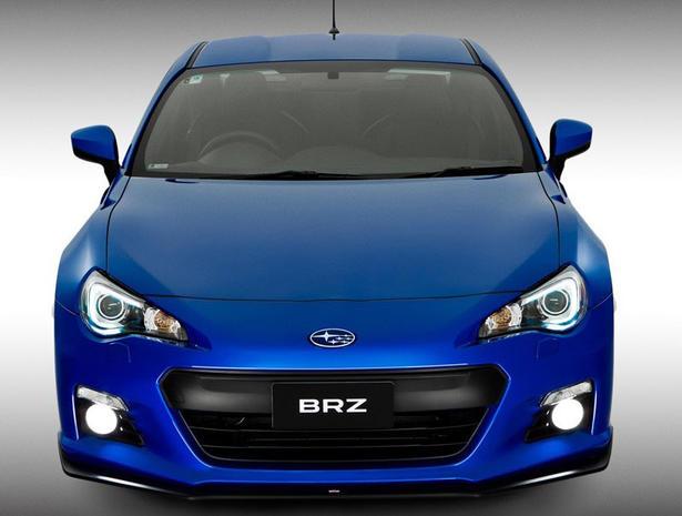 Subaru BRZ Gets STI Performance Parts