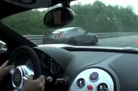 switzer nissan gt r vs bugatti veyron video