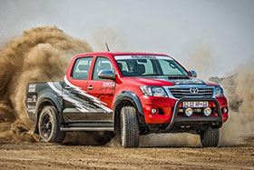 Toyota Hilux Gets 455 Hp Lexus IS F Engine Photos