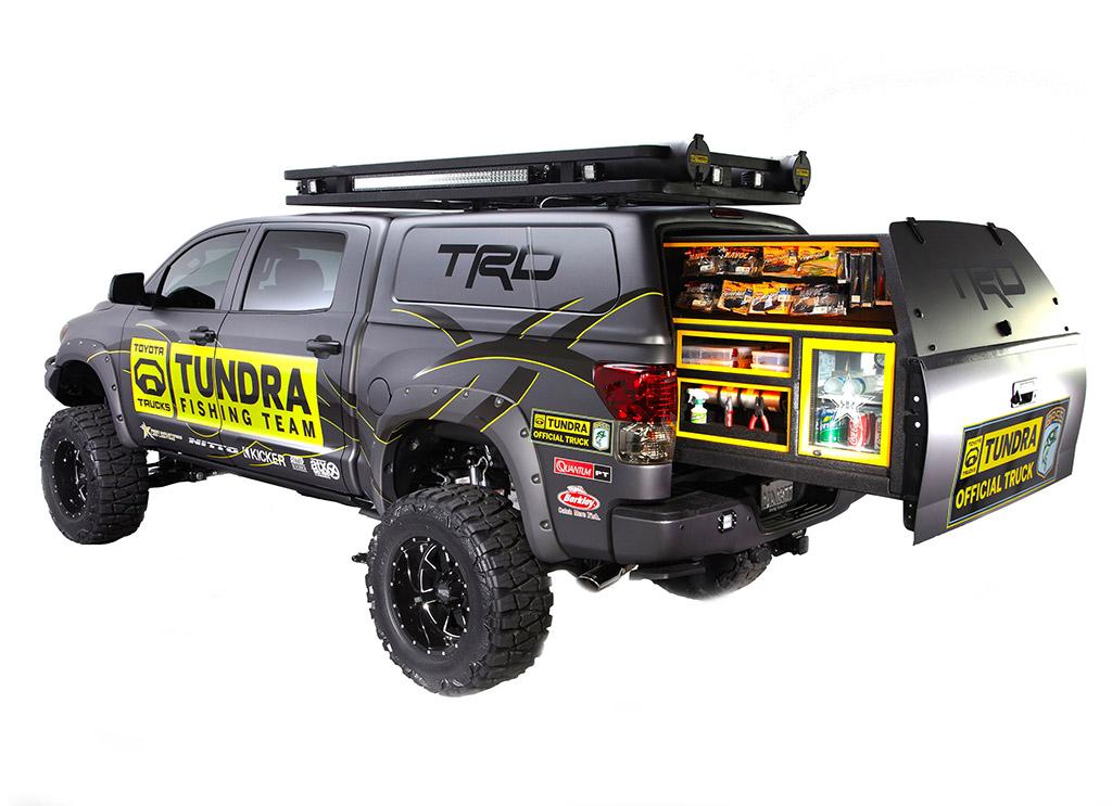 Camper Toyota Tundra Toyota Tundra Ultimate Fishing