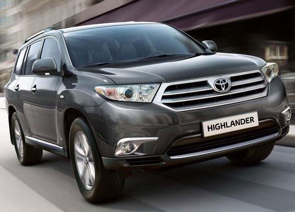 2012 Toyota Highlander Price