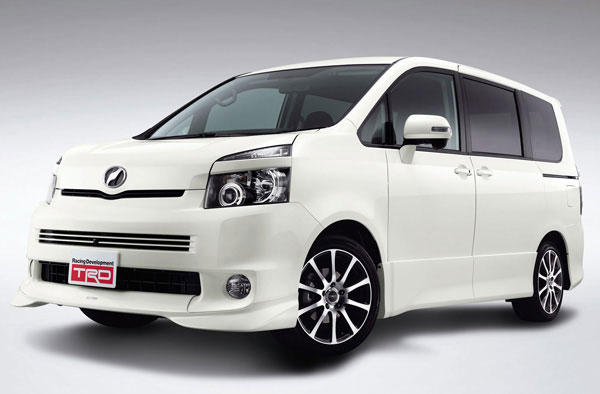 Trd toyota noah and voxy