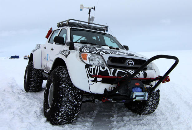 home news toyota toyota hilux conquers antarctica on jet fuel
