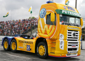 Volkswagen sells Brazilian truck business to MAN