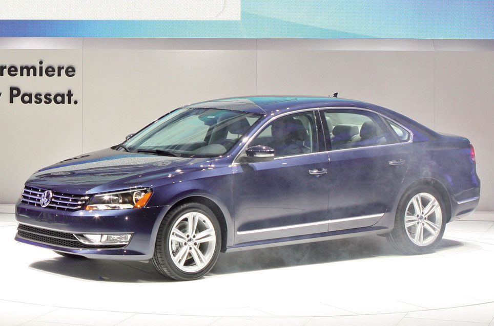 2011 Vw Passat Usa Photo 3 10269