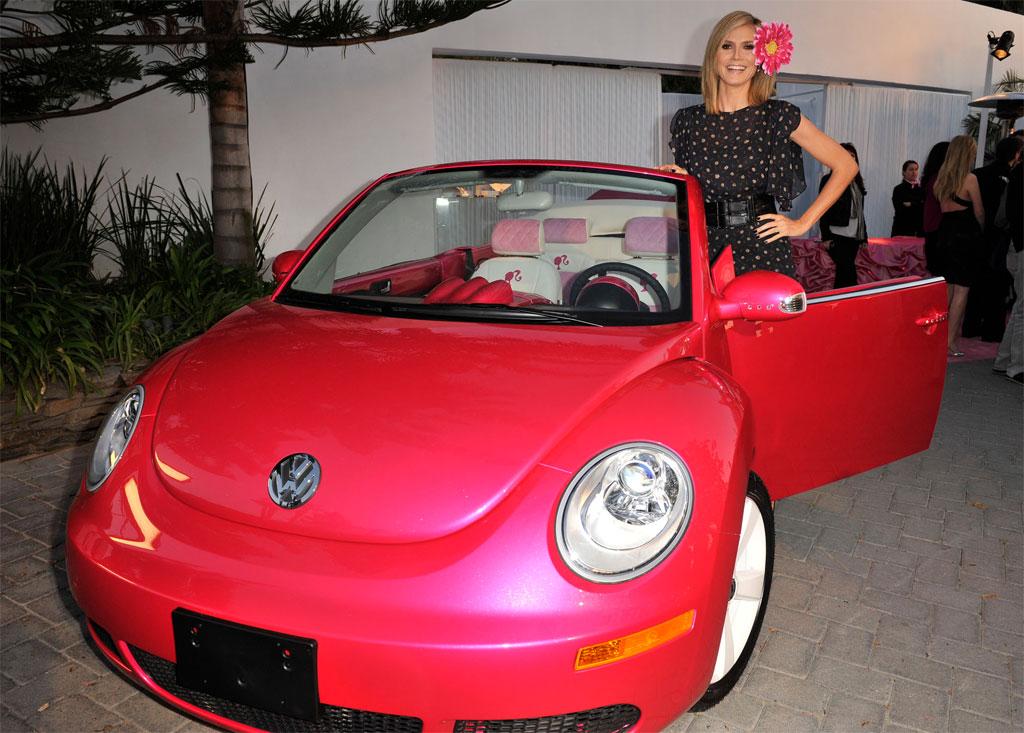 vw beetle convertible. Barbie Volkswagen Beetle