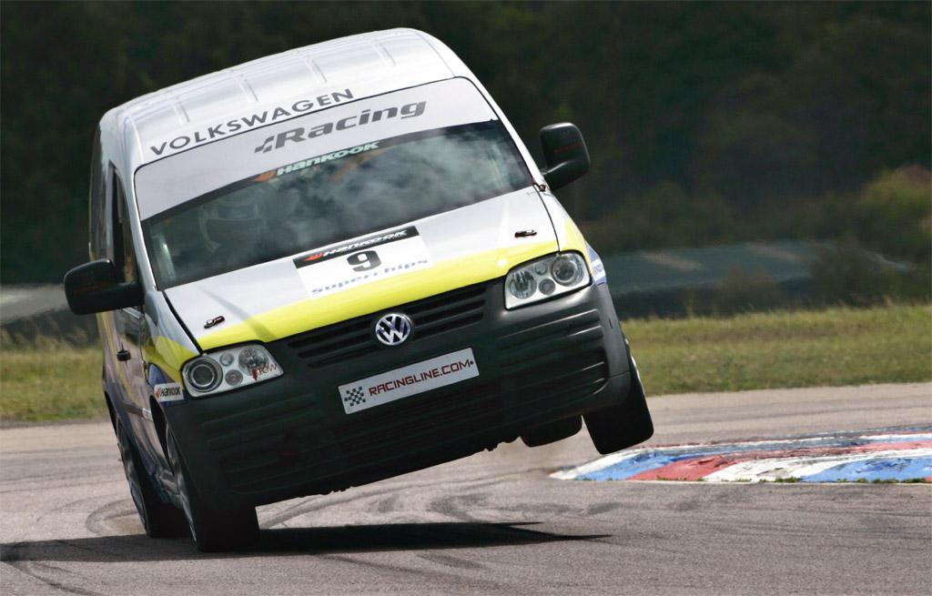 Racing Volkswagen Caddy