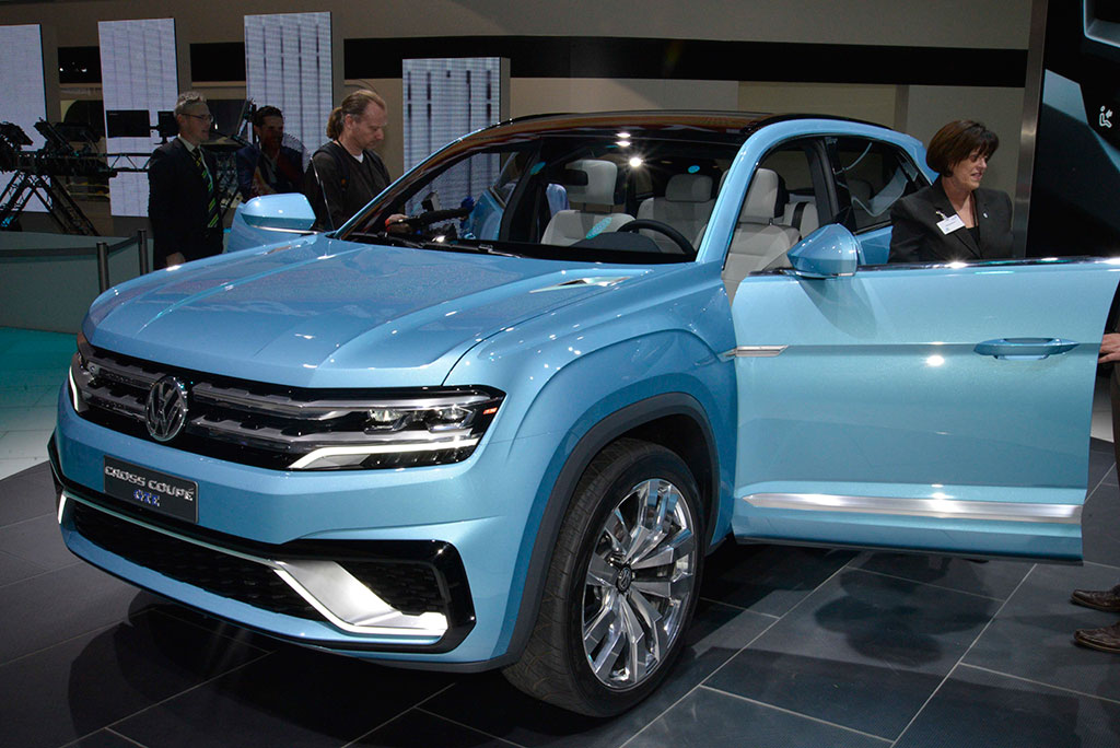 Volkswagen Cross Coupe Gte Concept Photo 9 14400