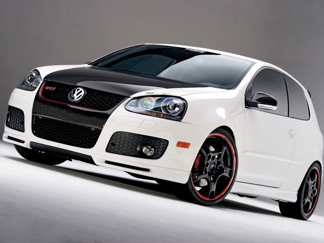 The Volkswagen Golf GTI Adidas And Excessive Concept Will Be On Display At Festival In Reifnitz Austria Until May 15