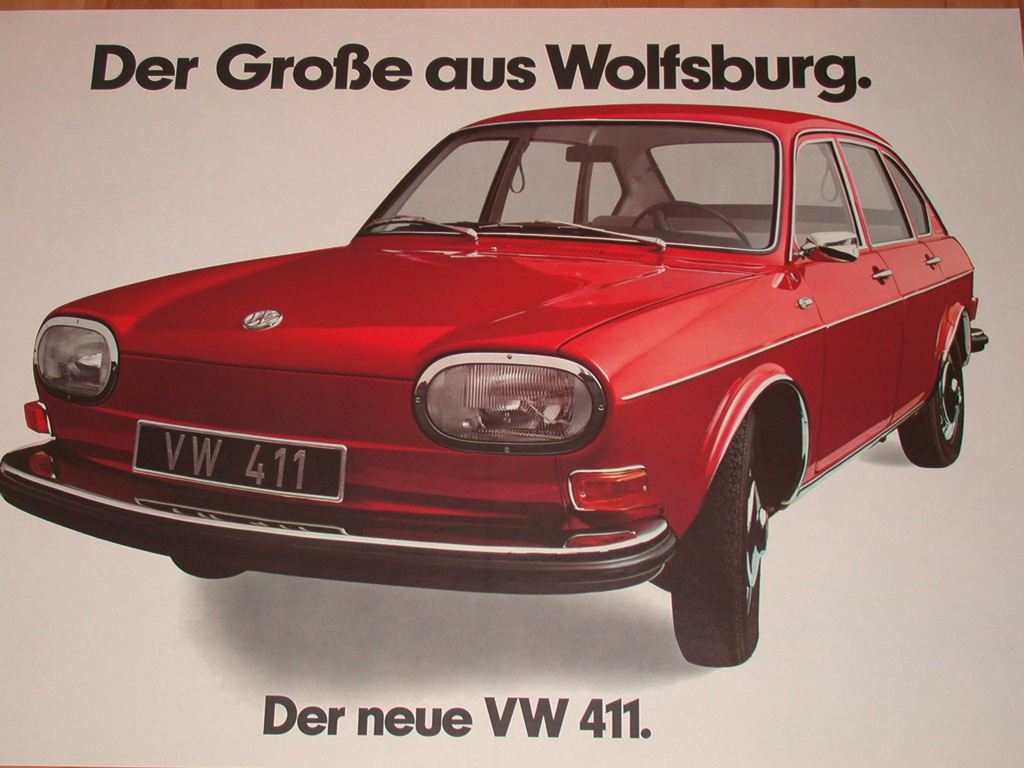It started with VW 411