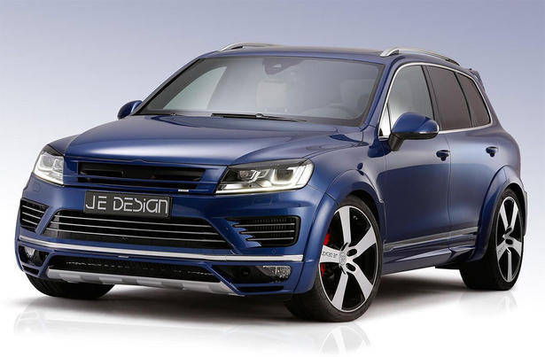 2015 Volkswagen Touareg Powerkit And Body Kit By Je Design