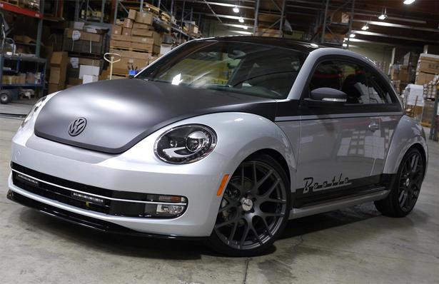 Volkswagen Beetle At 2012 SEMA