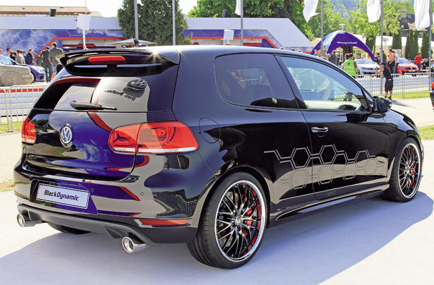 Golf 7 gti black modified