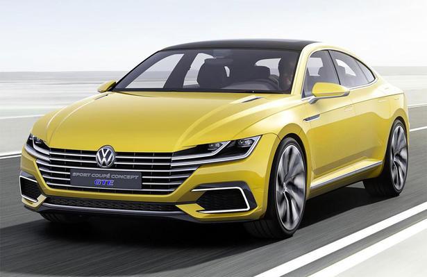 Volkswagen Sport Coupe GTE Previews Future Passat CC