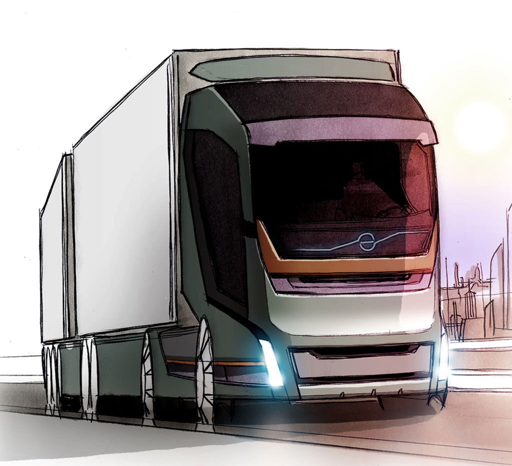 Volvo Concept Truck 2020 Photo 10 8299