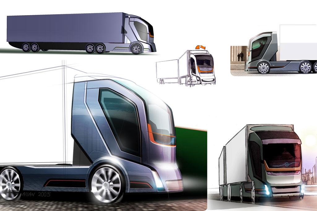 Volvo Concept Truck on Volvo S60 Sketch
