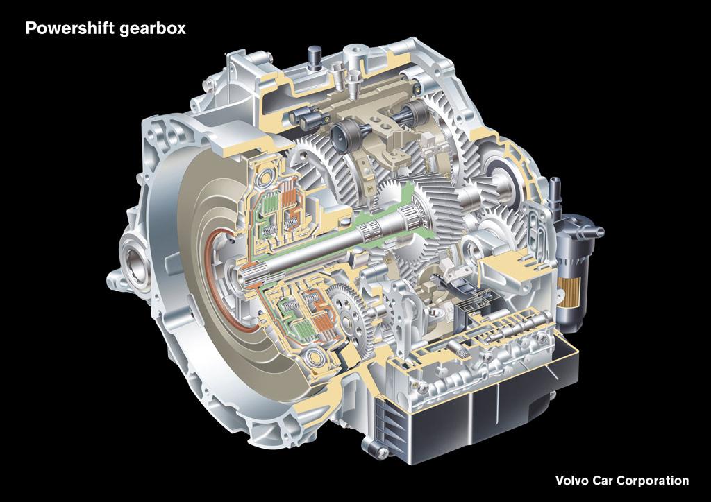 Volvo Powershift Photo gearbox 3200