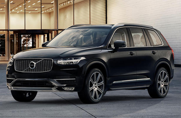 Volvo xc90 weight