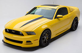 Vortech Ford Mustang Yellow Jacket Photos