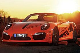 Porsche 911 Turbo S Cabrio (991) Powerkit by Wimmer Photos