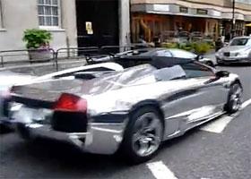 Video Chrome Lamborghini Murcielago Lp640 Roadster
