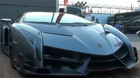 Lamborghini Veneno Engine Sound