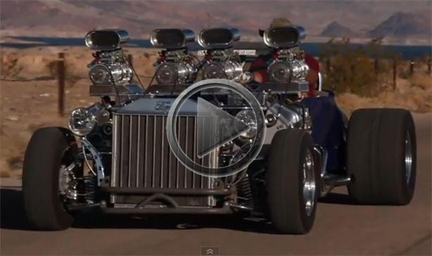 Maserati Las Vegas >> 1927 Ford Model T Gets 1,200 hp