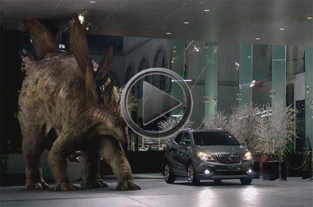 2013 Buick Encore Dinosaur Commercial