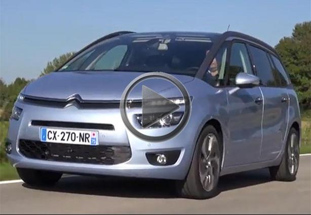 2014 citroen c4 picasso tested. Black Bedroom Furniture Sets. Home Design Ideas