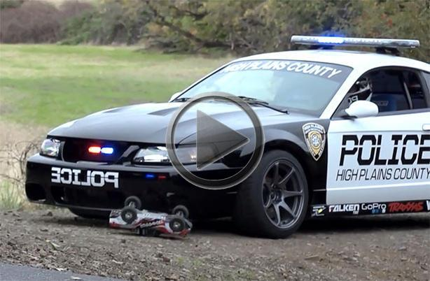 550hp Police Ford Mustang In Action