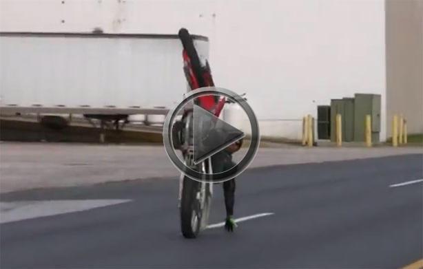 Amazing Dirt Bike Stunts With Chino