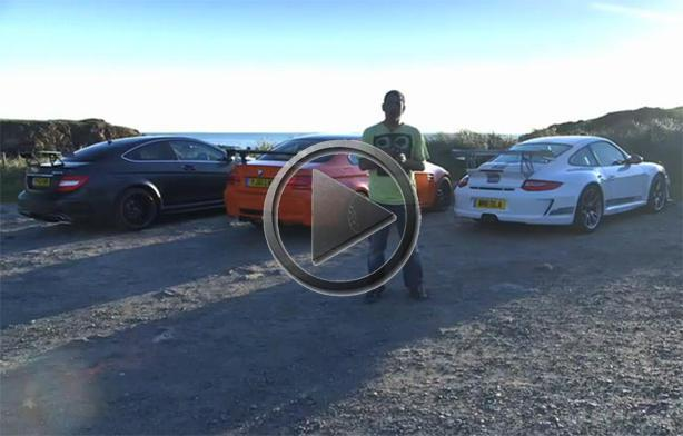 BMW M3 GTS vs Porsche 911 GT3 RS 4.0 vs Mercedes C63 AMG Black