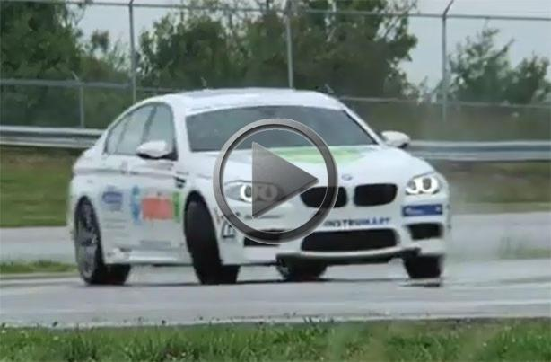 Bmw M5 Brings Home Longest Drift World Record