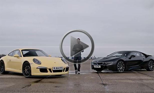 Heritage Volkswagen Subaru >> BMW i8 vs Porsche 911 On The Track