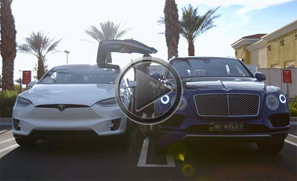 Bentley Bentayga Shamed By Tesla Electric Minivan