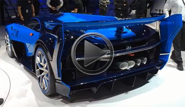 Bugatti Vision Gran Turismo Engine Sound