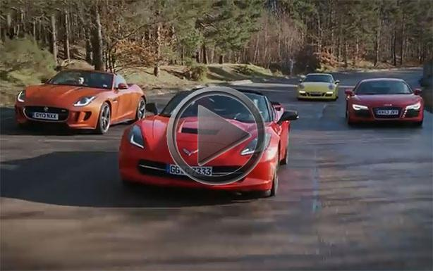 Elegant Chevrolet Corvette Stingray Vs Audi R8 Vs Porsche 911 Vs
