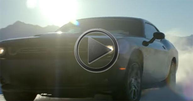 Dodge Challenger GT AWD Plays In The Snow In Alaska