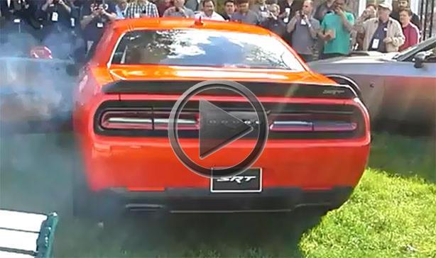 Dodge Challenger Srt Hellcat Exhaust Sound