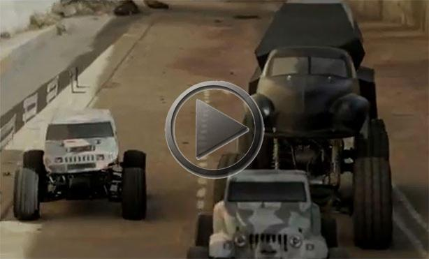 Fast and Furious 6 Trailer With RC Cars